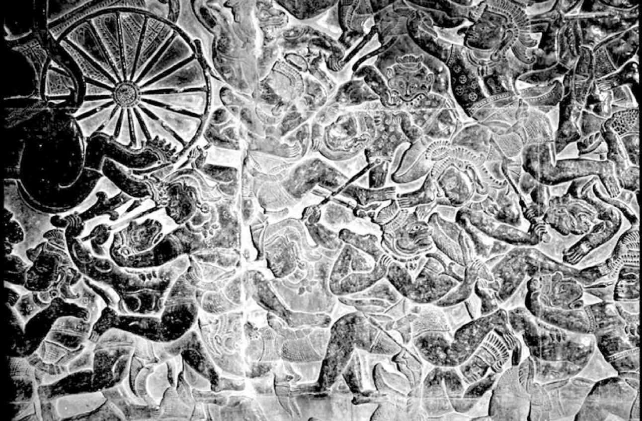Фрески древнего Анкора