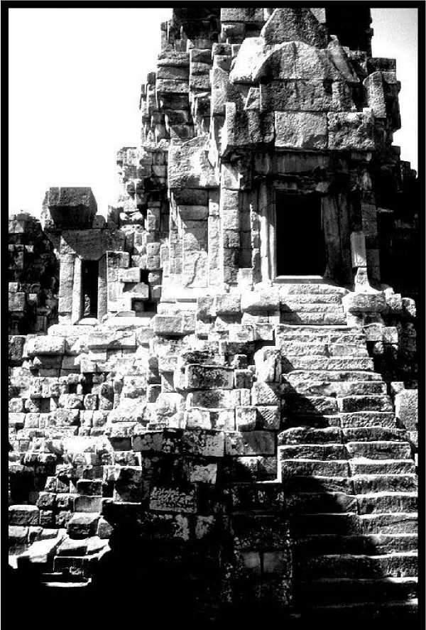 Анкор. Каменная кладка храма