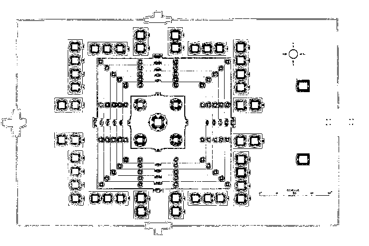 План храма Пном Бакхенг