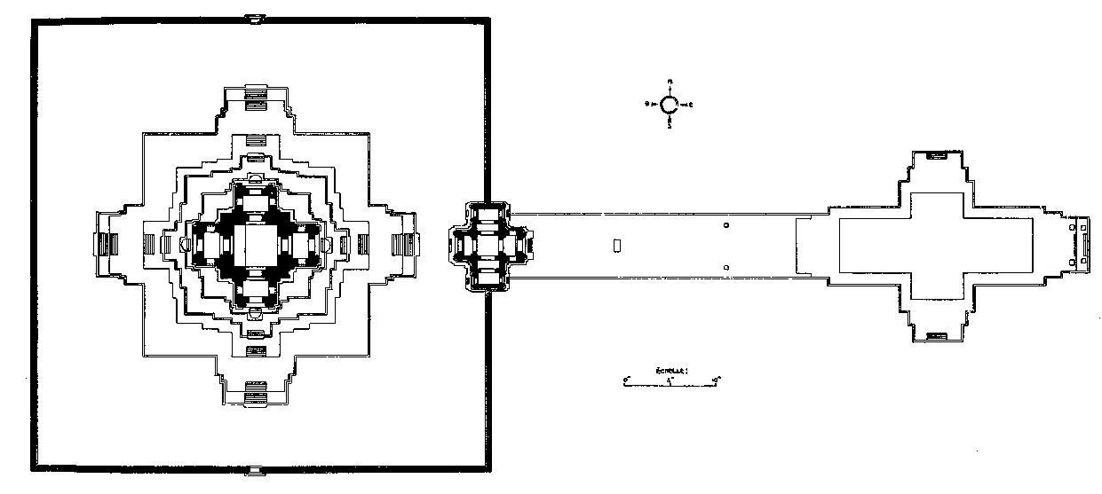 Анкор. Схема расположения монумента