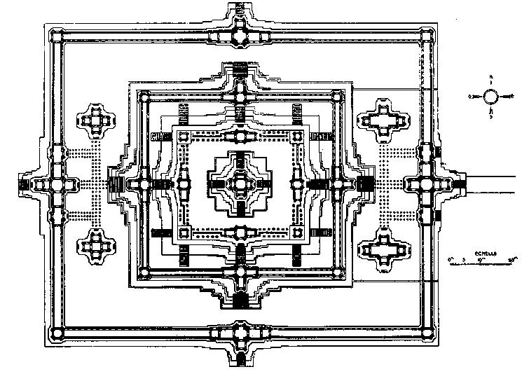 Анкор. Бапуон - схема