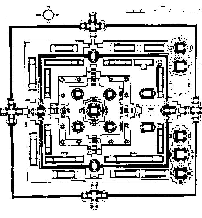 Пре Руп Схема монумента