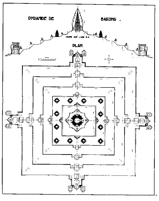 Баконг  План и сечение