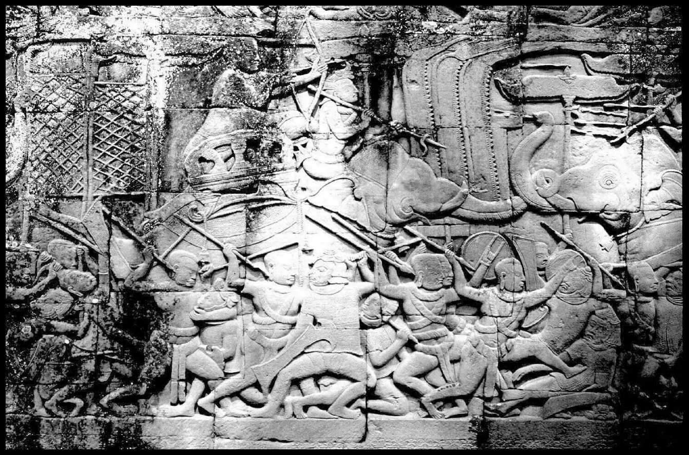 Кхмерский барельеф