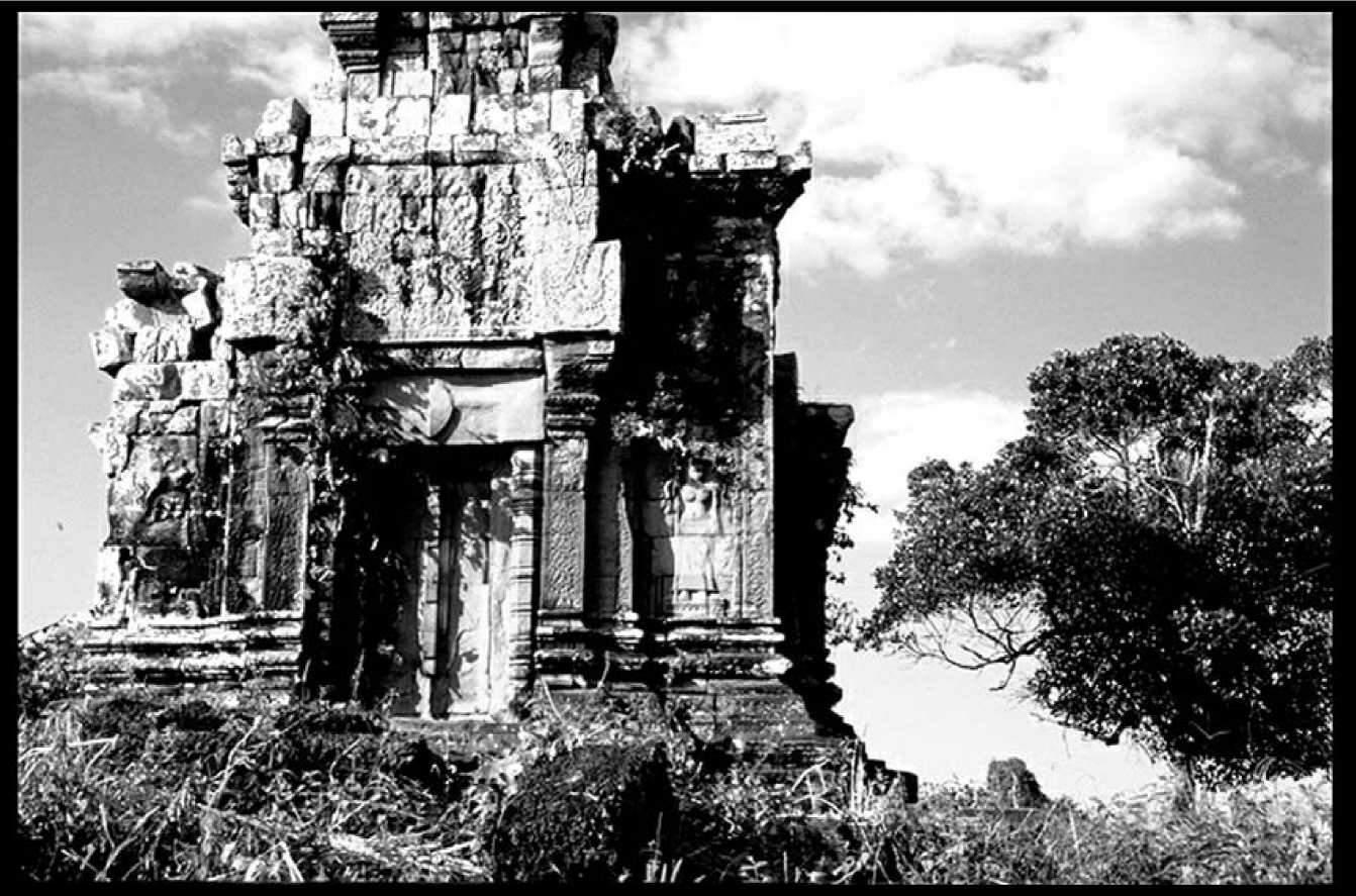 Фотография монумента Пном Бок