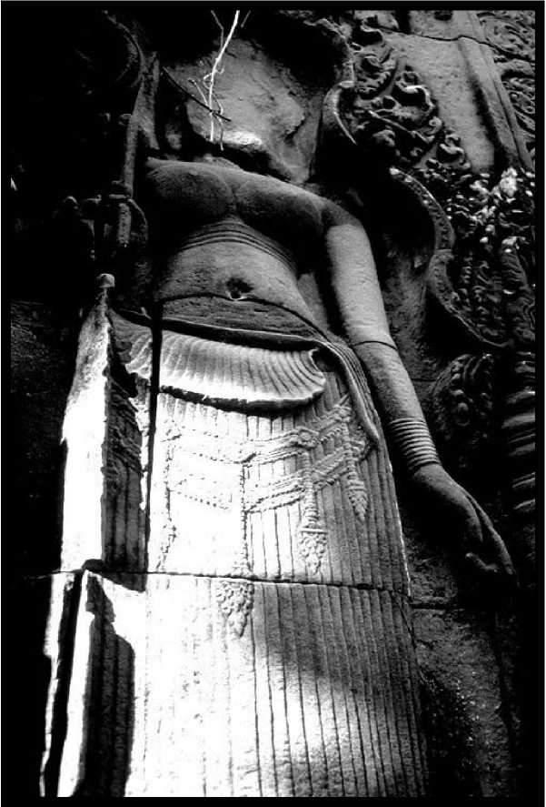 Статуя из Западного Барая