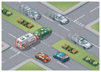 Оцените длину вашего транспортного средства и не создавайте препятствий для движения транспорта