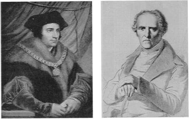 Сэр Томас Морe (1478-1535) и Чарльз Фурье(1772-1837)
