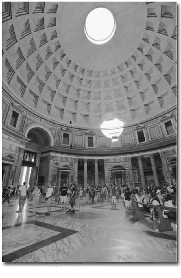 Вид внутри римского Пантеона