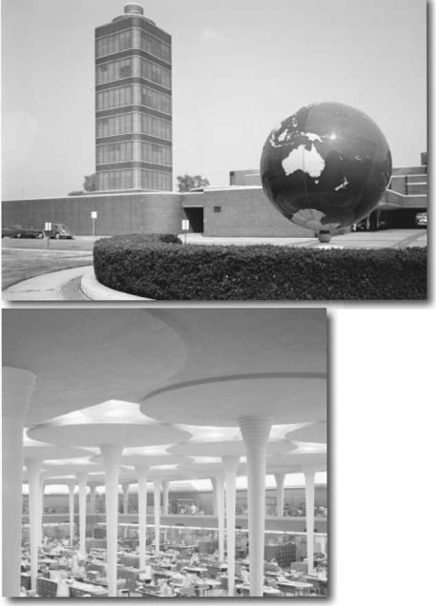 Здание штаб-квартиры Johnson Wax и исследовательская башня