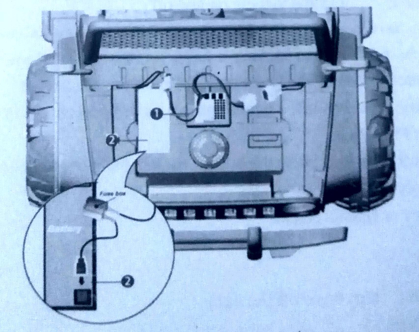 Электрические подключения джипа